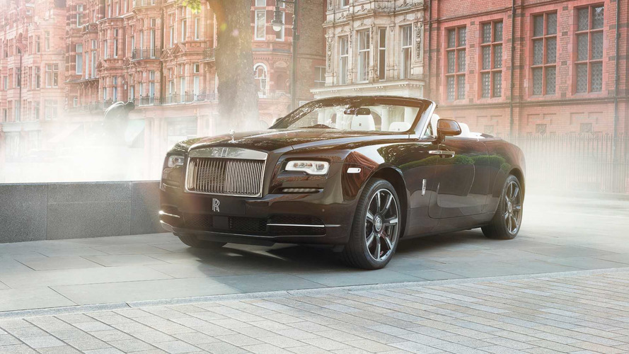 London Rolls-Royce Dealer Commissions One-Off Dawn Mayfair