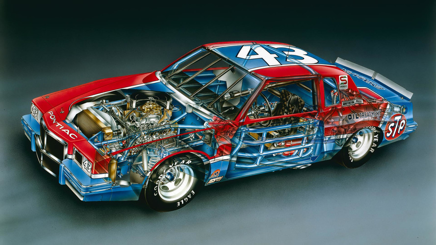 1982 Richard Petty No. 43 Pontiac Grand Prix