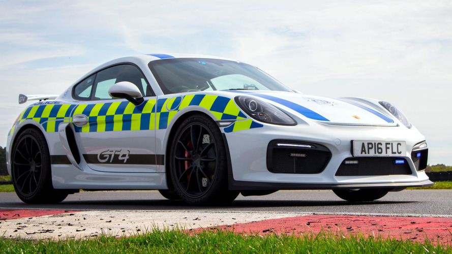 Porsche Cayman GT4 Police Car Won't Be Chasing Bad Guys, Sadly