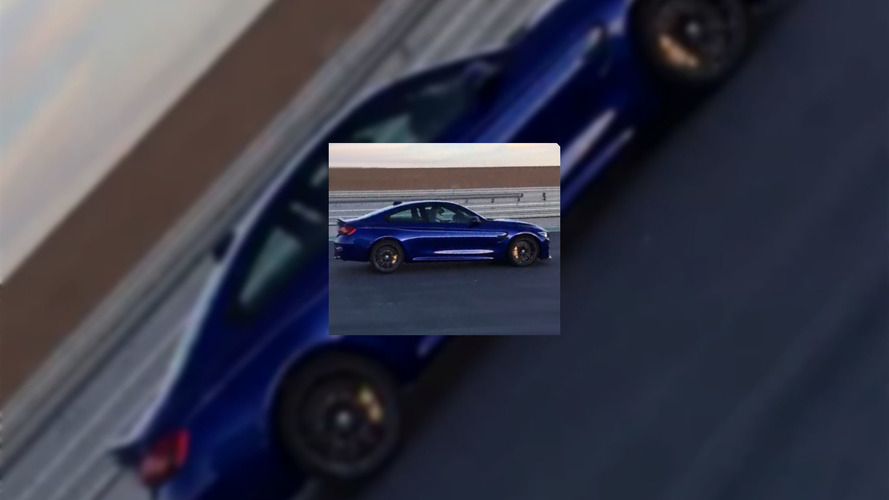 BMW M4 CS photos from a commercial shoot