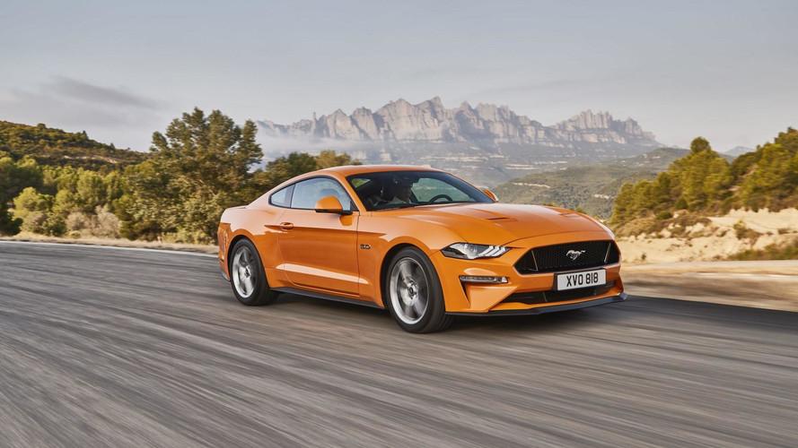 Erősebb és agresszívebb lett az európai piacra szánt Mustang