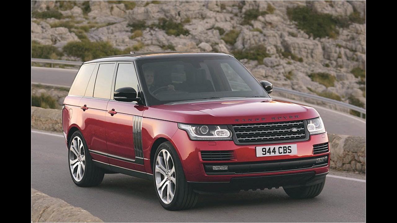 339 PS: Land Rover Range Rover 4.4 SDV8 LWB