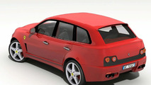 Ferrari FS 599 Fuoristrada - Artist rendering