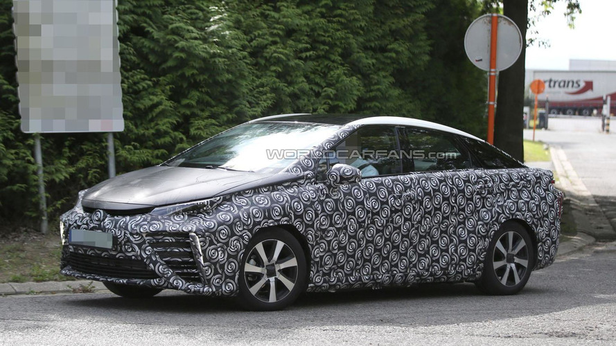 2015 Toyota FCV spied in Europe