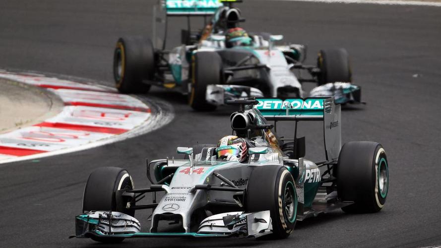 Cool Rosberg admits Hamilton cost him Hungary win