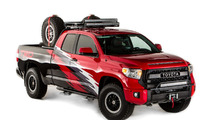 Toyota chase vehicles for the Baja 1000