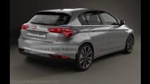 Novo Fiat Tipo hatch: veja os flagras mais reveladores até o momento