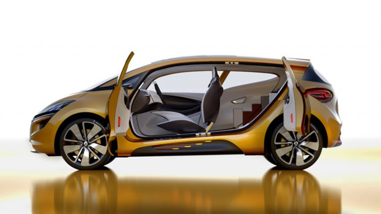 Genebra: Renault R-Space Concept antecipa tecnologias inovadoras da marca