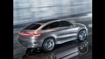 Salão de Pequim: Mercedes mostra o Coupe SUV Concept, rival direto do X6