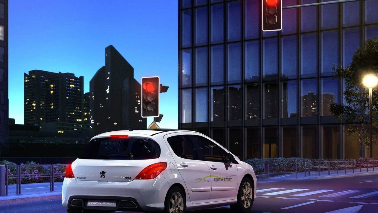 Peugeot 308 with Stop & Start technology