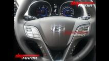 Flagra revela primeiras imagens do interior da nova geração do Hyundai Santa Fe