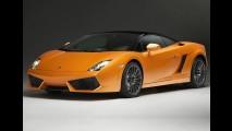 Lamborghini apresenta Gallardo LP560-4 Bicolore 2011 no Salão do Qatar