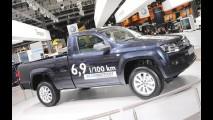 VW apresenta Amarok Bluemotion - Consumo é de 14,5 km/litro