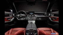 De novo! Futuro brasileiro, Mercedes Classe C 2014 aparece em novas imagens
