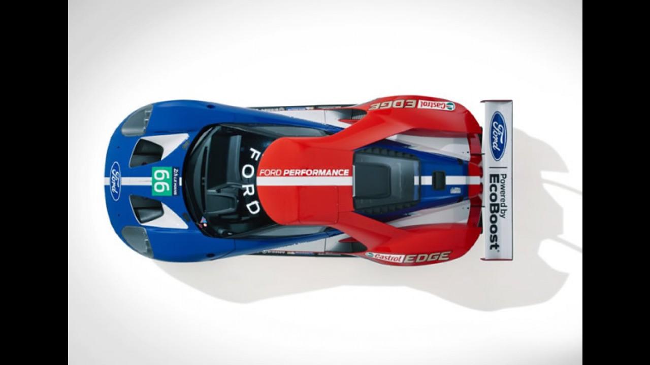 Vídeo: Ford comemora retorno a Le Mans com metamorfose do GT
