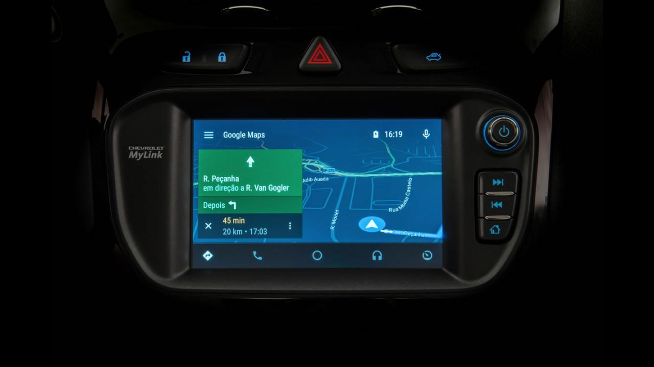 Novo Cobalt 2016 estreia MyLink2 com Android Auto e Apple CarPlay