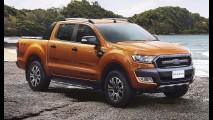 Ford revela reestilizada Ranger 2015 em versão de topo Wildtrak
