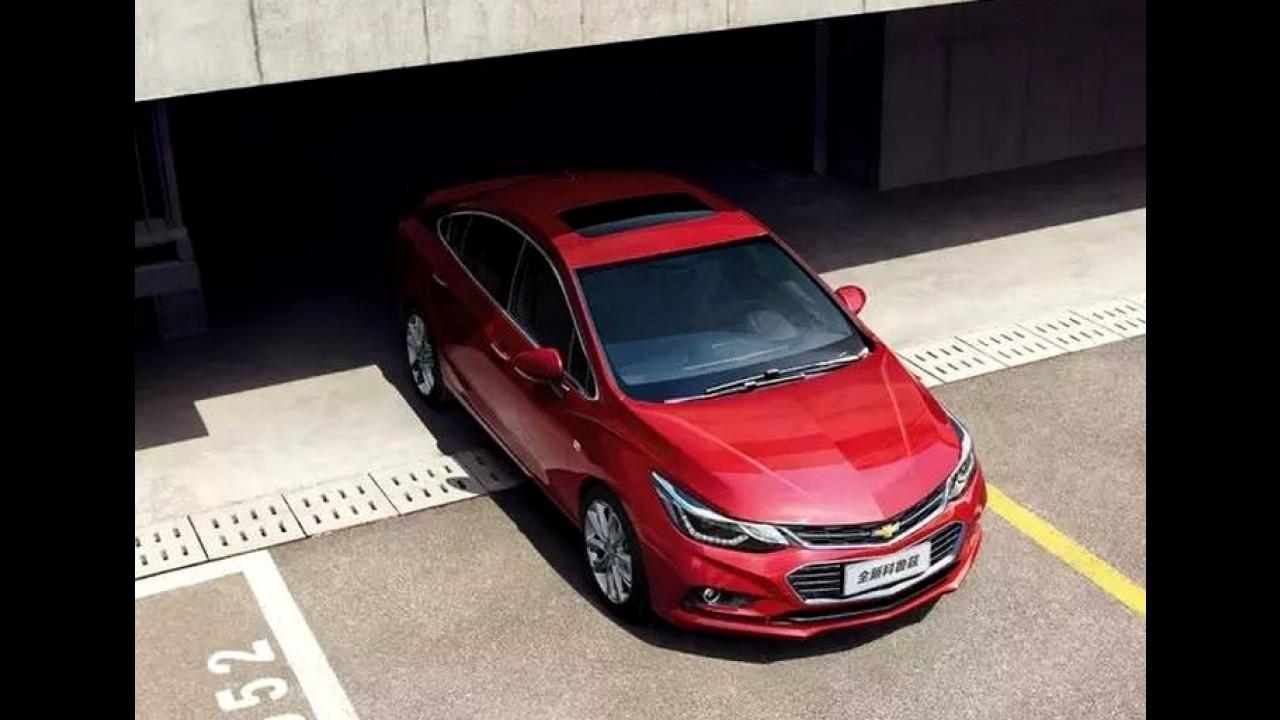 """Chevrolet Cruze XL 2017: modelo chinês fica maior e ganha visual """"ocidental"""""""