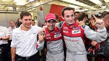 Pole position : #8 Audi Sport Team Joest Audi R18: Lucas di Grassi, Loic Duval, Oliver Jarvis