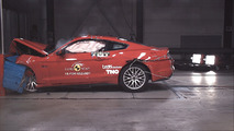 Euro-spec Ford Mustang in Euro NCAP crash test