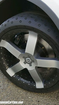 NIssan Actic Concept with Michelin concept tire