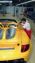 Porsche Carrera GT production