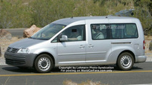 New VW Sharan Spy Photos