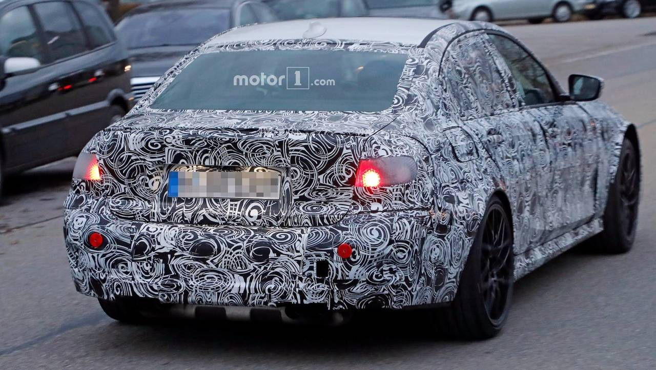 2020 BMW M3 Spy Photos
