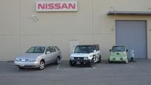 Nissan Electric Vehicle Prototype history