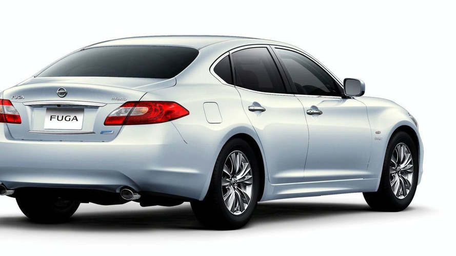Nissan Fuga aka Infinti M Announced for Tokyo Debut - Includes Hybrid Model