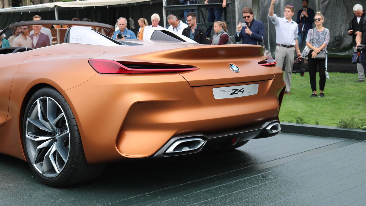 Bmw Z4 Concept Debuts Suggests Sublime Shape For Future Roadster