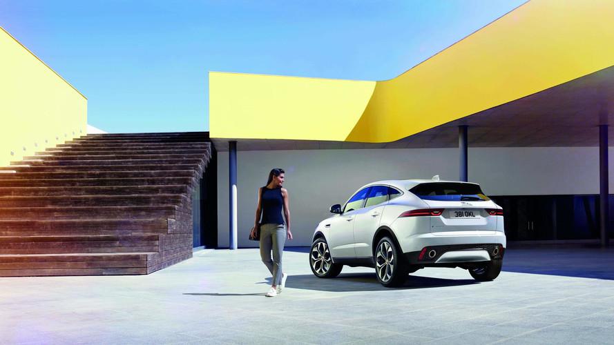 Jaguar e pace le nouveau suv compact anglais for Interieur jaguar e pace