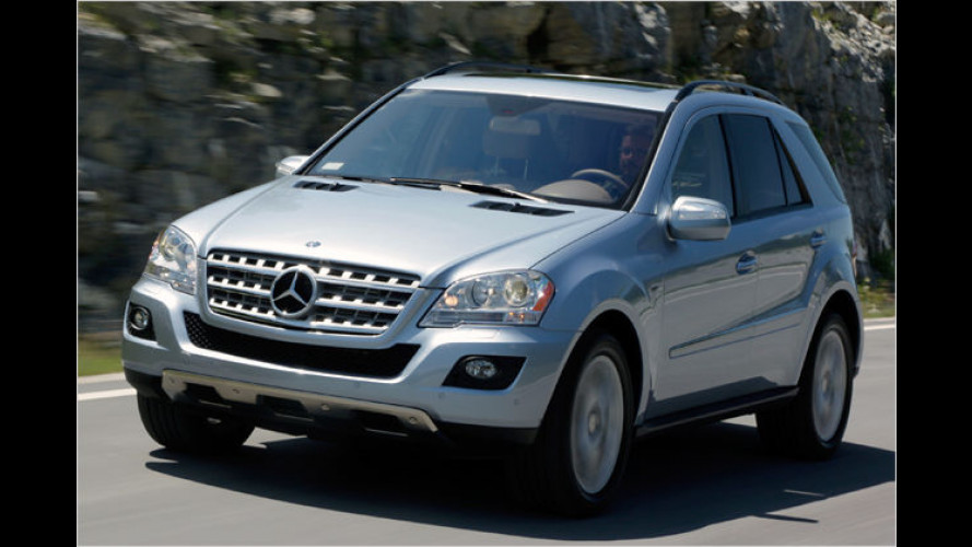 Mercedes ML 320 BlueTEC: Sauberer Start in den Staaten