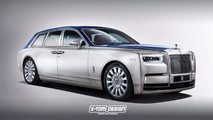 Rolls-Royce Phantom Shooting Brake render