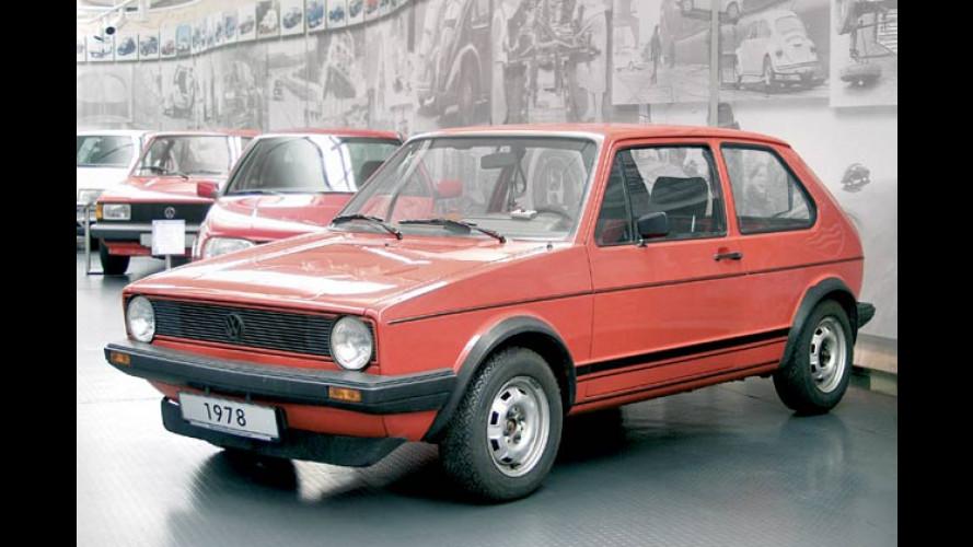 30 Jahre VW Golf: Museum zeigt Geschichte des Kult-Mobils