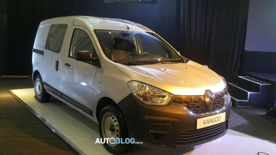 Novo Renault Kangoo - Argentina
