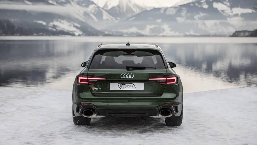 Audi RS4 Avant Sonoma Green