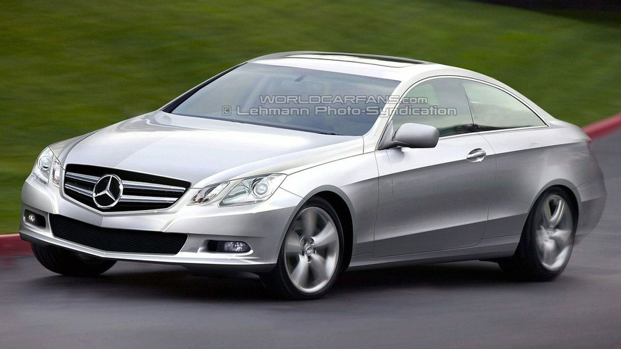 New Mercedes CLK-Class: Latest Illustrations