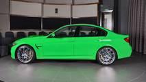 BMW M3 verde Mantis Green