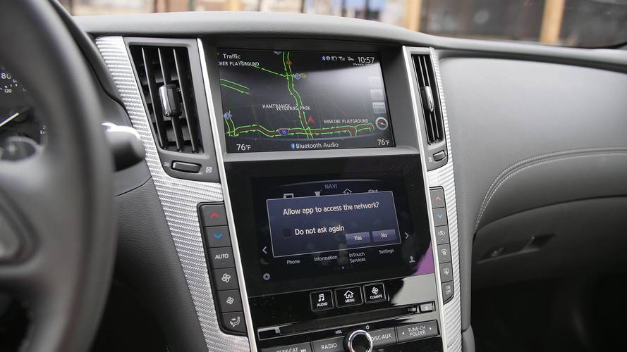 Infiniti Working On New Infotainment System With Larger Display