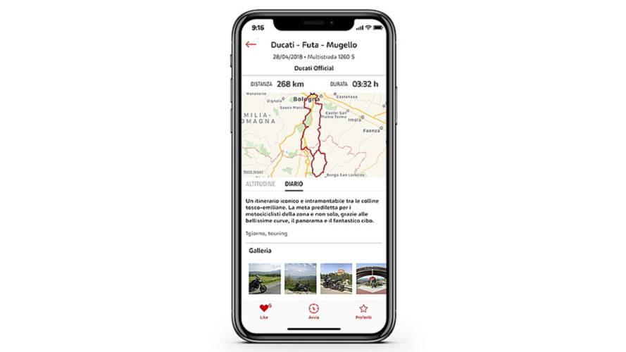 App Ducati Link