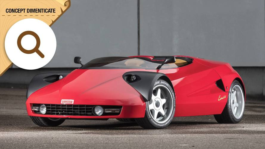Michalak Conciso, la Ferrari svestita