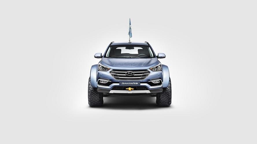 Hyundai Santa Fe - Expedição na Antártica