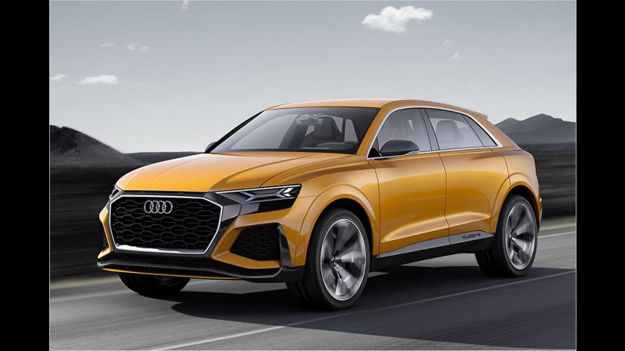 Noch mehr Audi-SUVs im Anmarsch