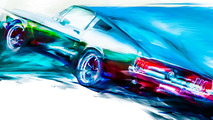 Ford Mustang Art