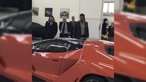 First delivered Lamborghini Centenario