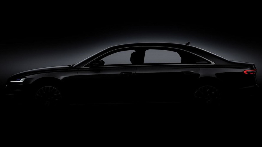 Audi A8 2018 Teaser