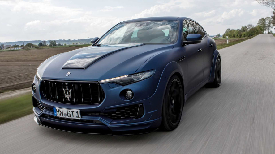 Maserati Levante Gets Aggressive Widebody Treatment