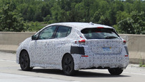 2018 Nissan Leaf spy photos