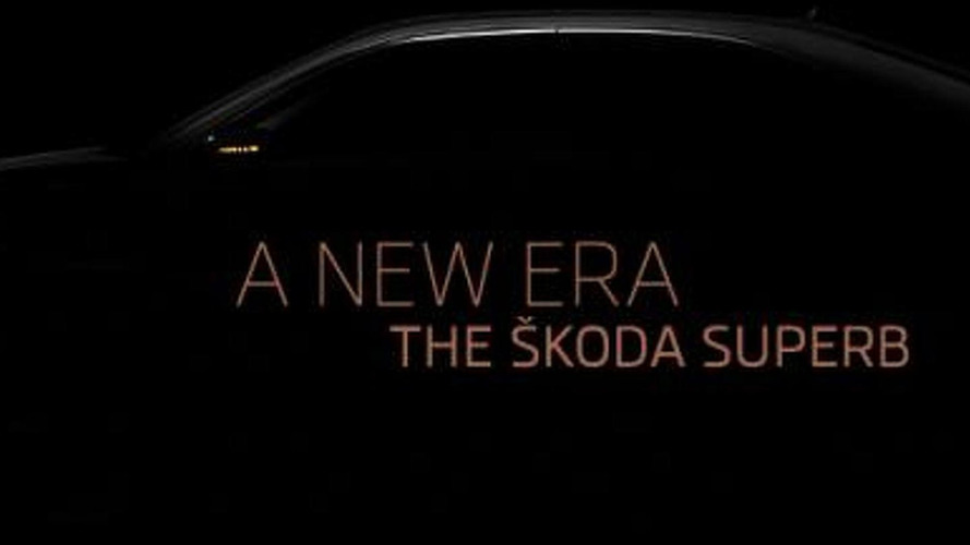 2015 Skoda Superb teaser video released